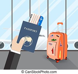 Travel, business trip concept.