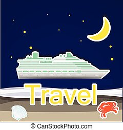 Travel by cruise ship