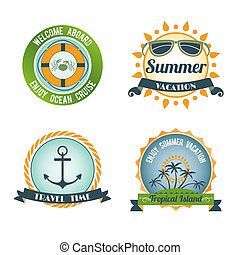 Travel color labels