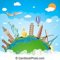 travel., concept