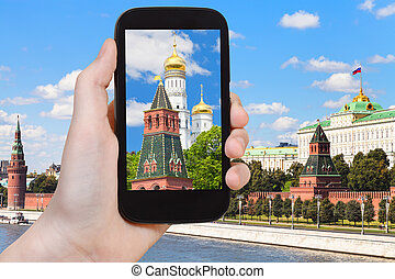 picture of cathedral in Moscow Kremlin