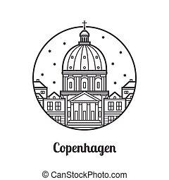 Travel Copenhagen Icon