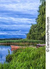 Travel Destinations Concepts. Peaceful Picturesque Landscape...