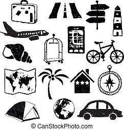 travel doodle images