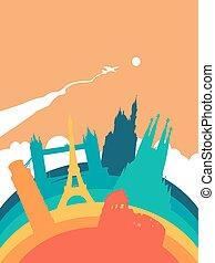 Travel Europe world landmark landscape - Travel Europe...