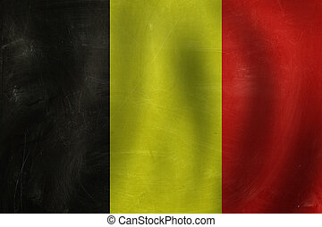 Travel in Germany concept. background with the Germany flag