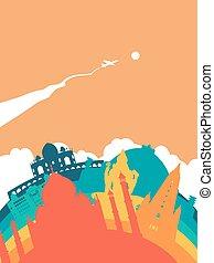 Travel India world landmark landscape