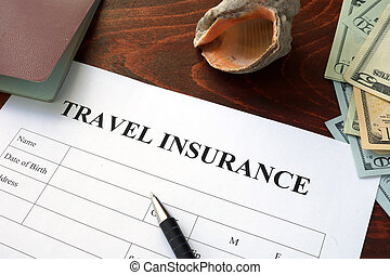 Travel insurance form