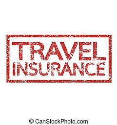 Travel insurance word