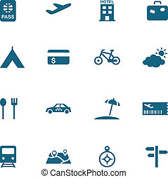 Travel, leisure and tourism icon se