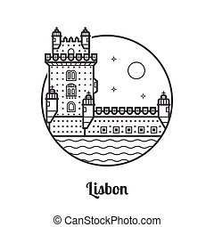 Travel Lisbon Icon