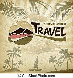 Travel logo concept