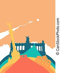 Travel Mexico world landmark landscape