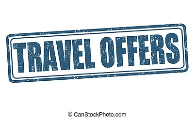 Travel offers stamp