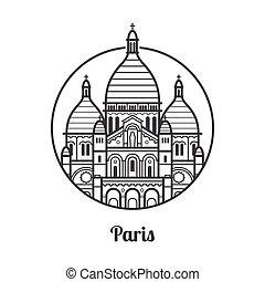 Travel Paris Icon