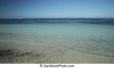 Travel photographer on Australia Beach