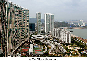 Travel Photos China - Hong Kong - Hong kong skyline...