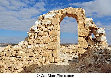 Travel Photos Israel - Negev Desert - Ruins of Byzantine...