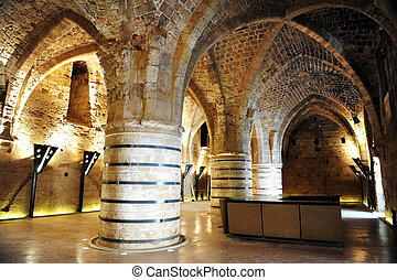 Travel Photos of Israel - Acer Akko - Knight templar castle...