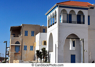 Travel Photos of Israel - Acer Akko - Old buildings in Acre...