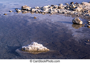 Travel Photos of Israel - Dead Sea - Dead Sea salt natural...