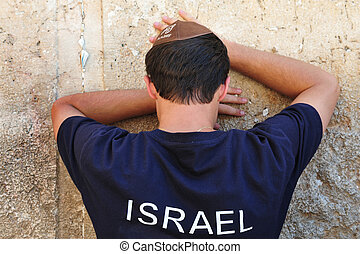 Travel Photos of Israel - Jerusalem Western Wall - Jewish...