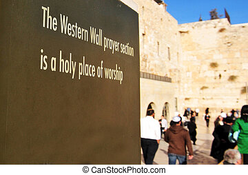 Travel Photos of Israel - Jerusalem Western Wall - The...