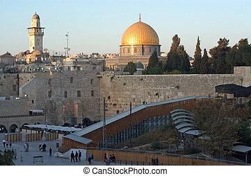 Travel Photos of Israel - Jerusalem Western Wall - The Kotel...