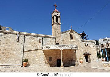 Travel Photos of Israel - Nazareth - Greek Orthodox Church ...