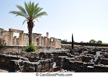Travel Photos of Israel - Sea of Galilee - Excavations of...