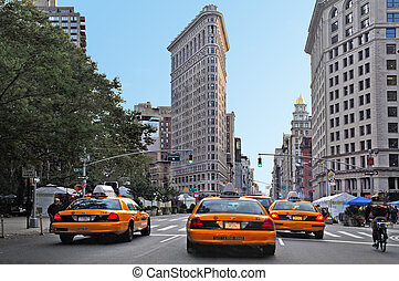 Travel Photos of New York - Manhattan - The Flatiron...