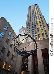 Travel Photos of New York - Manhattan - The Rockefeller...