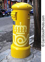 Travel Photos of Spain - Madrid Cityscape