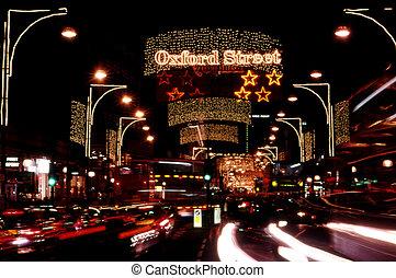 Travel Photos UK - London - Christmas Lights Display on...