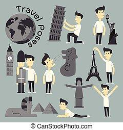 Travel Poses