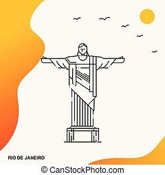Travel RIO DE JANEIRO Poster Template