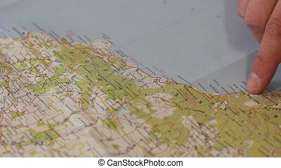 Travel route plan
