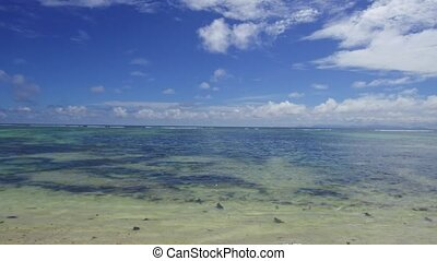 african beach in indian ocean - travel, seascape and nature...