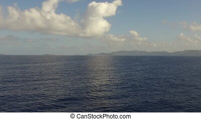 sea or indian ocean and blue sky - travel, seascape and...