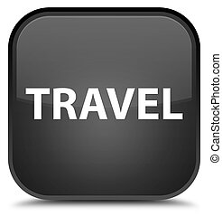 Travel special black square button