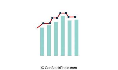 travel Statistics graphic design, Video animation HD1080