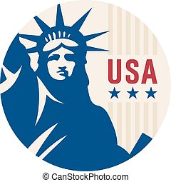Travel sticker USA