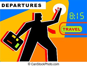 Travel - modern life - abstract concepts