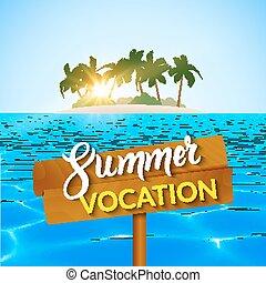 Hello summer background. summer travel vocation rest ...