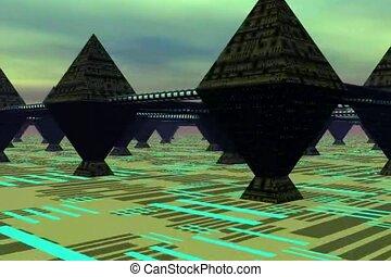 Travel though City of Pyramids PT1