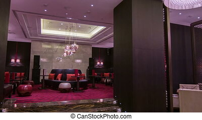 travel through interior of the restaurant - Welcome to...