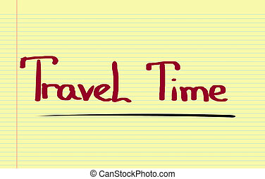 Travel Time Concept