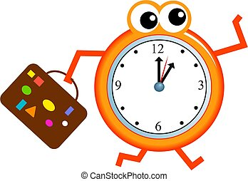 time travel stock illustration images 22 544 time travel rh canstockphoto com timer clipart gif timer clipart