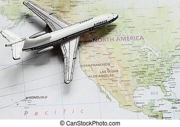 Travel to America