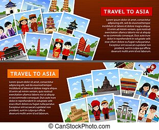 Travel to asian countries.